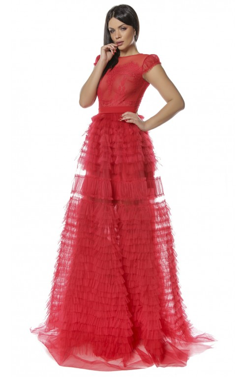 Rochie tulle Charo