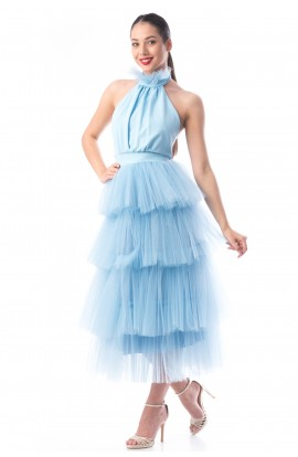 Rochie tulle Baby Blue